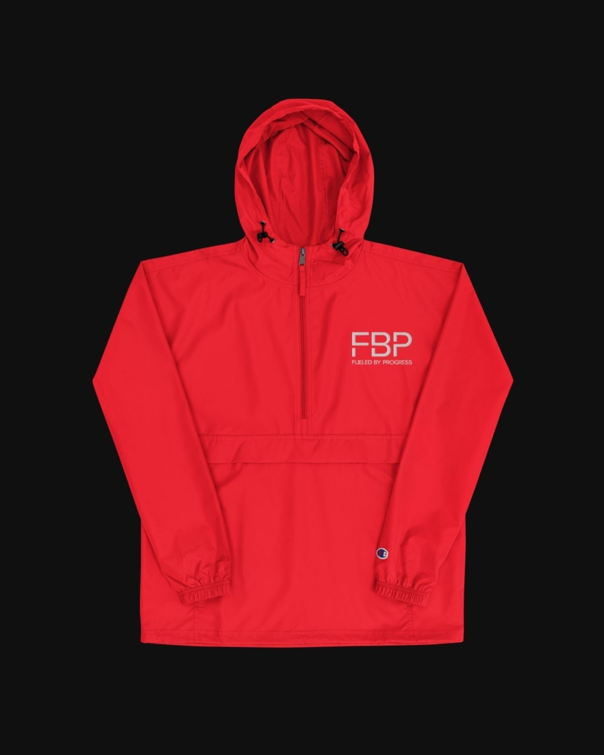 FBP x Champion Packable Jacket - Red