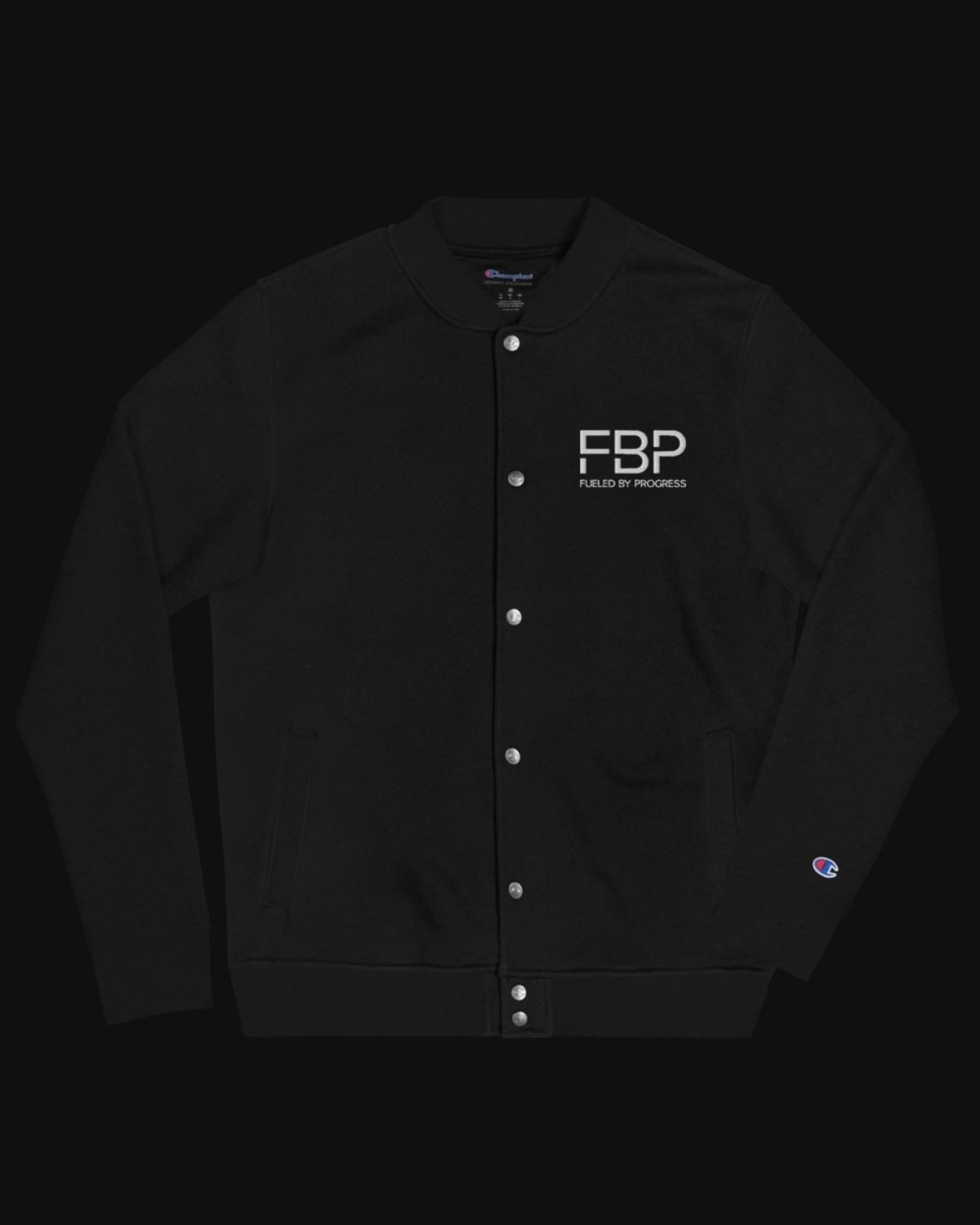 FBP x Champion Bomber Jacket - Black