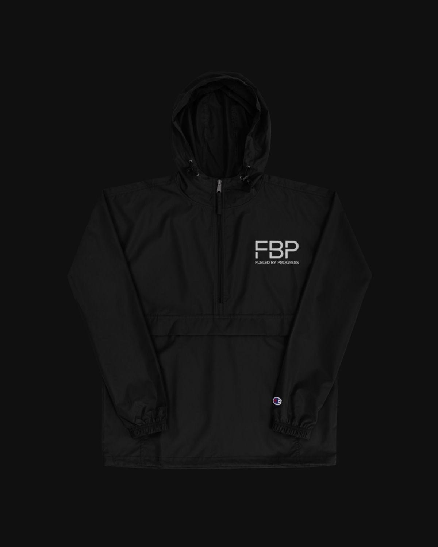 FBP x Champion Packable Jacket - Black